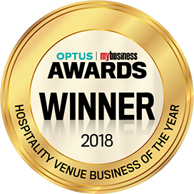Optus Awards 2018 Winner Hospitality Venue Business Of The Year
